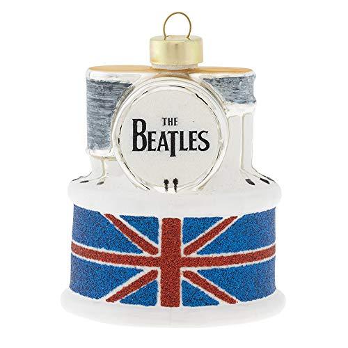 kat + annie Beatles Schlagzeug-Set, Rot/Weiß/Blau