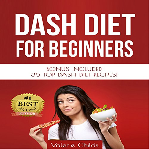 DASH Diet for Beginners audiobook cover art