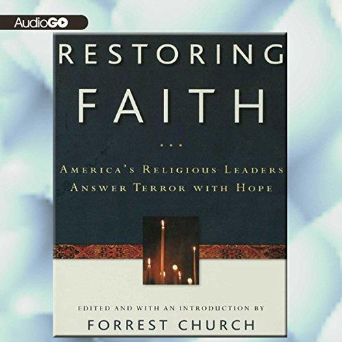 Restoring Faith audiobook cover art