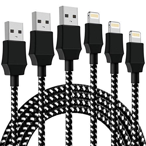 Aonsen ライトニング ケーブル 【3本セット 1M】 Lightning ケーブル USB充電ケーブル 高耐久 データ転送ケ...