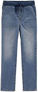 Carter's Pull-On Denim Pants - Boys Size 4/5 Blue