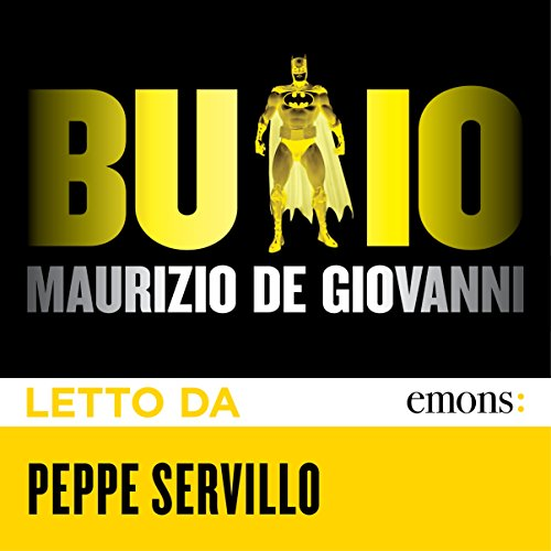 Buio audiobook cover art