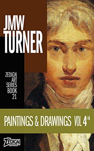 JMW Turner Paintings Drawings Vol 4 Zedign Art Series product image