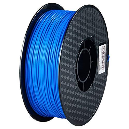 Rabate PLA 3D Printer Filament, Dimensional Accuracy +/- 0.02 mm, 1 kg Spool, 1.75 mm, Blue