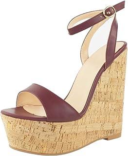 Madera De Vestir Sandalias Amazon esBloques Mujer Zapatos Para zMqGUjVLSp
