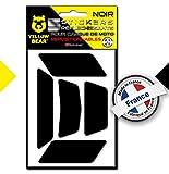 Yellow Bear Easy Five , Kit 5 Stickers Retro réfléchissants REPOSITIONNABLES, pour...
