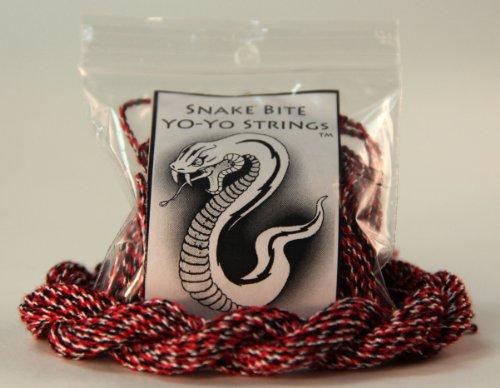 Snake Bite Yo-Yo Strings - 100% Polyester Multi-Color Strings- Redbelly Snake