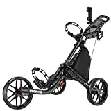 Caddytek facile Piegati Carrello da Golf cart 3 ruote Dark Grey
