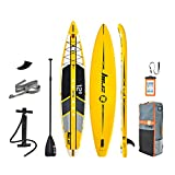 Zray R1 12'6' Inflatable Stand Up Paddle Board Racing SUP 6' Thick