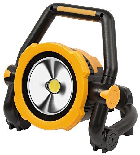 Brennenstuhl 1171430 Projecteur LED Portable, Pliable et Rechargeable Avec Batterie Li-Ion 30W, Orange, 30 Watts