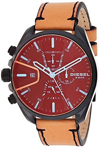 Diesel Homme Chronographe Quartz Montre avec Bracelet en Cuir DZ4471