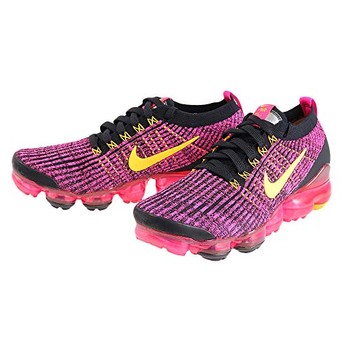 Price comparison product image Nike Womens Air Vapormax Flyknit 3 Womens Aj6910-600 Size 7.5,  Laser Fuchsia / Laser Orange-black