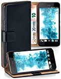 MoEx® Book-style flip case to fit HTC Desire 10 Lifestyle