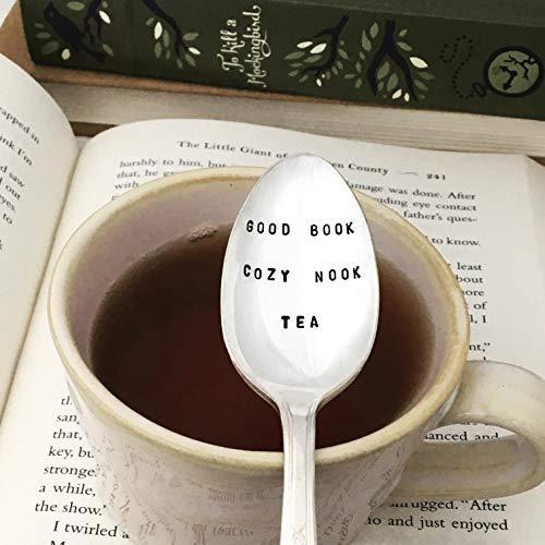 Good Book, Cozy Nook, Tea Spoon