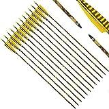 Narchery Tiro con Arco Flechas y saetas, 31' Pulgadas Arcos y Flechas para Caza o práctica, Incluye...