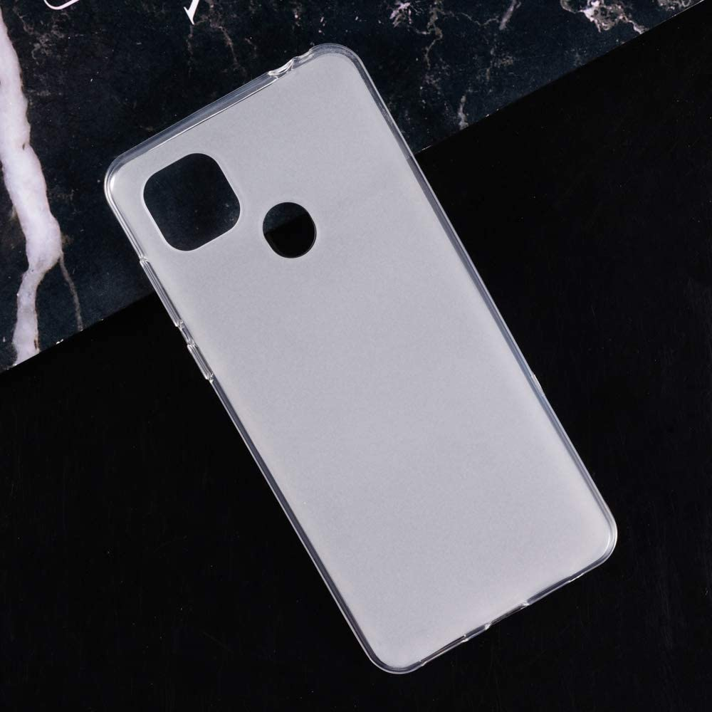 ZTE Zmax 10 Case, Scratch Resistant Soft TPU Back Cover Shockproof Silicone Gel Rubber Bumper Anti-Fingerprints Full-Body Protective Case Cover for ZTE Z6250 (White)
