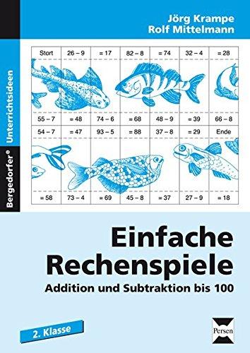 Einfache Rechenspiele: Addition und Subtraktion bis 100 (2. Klasse)