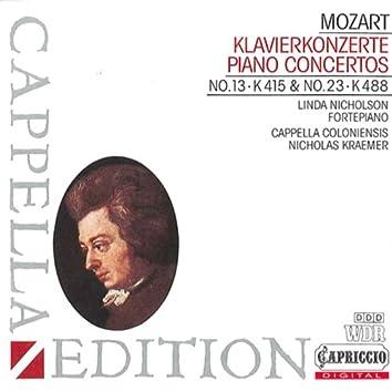 Mozart: Piano Concertos Nos. 13 & 23