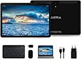 Tablet 10.1 Pulgadas Android 10.0 Tableta Ultra-Portátiles - RAM 4GB | 64GB Expandible (Certificación Google GMS) -JUSYEA - Batería de 8000mAh - WiFi —Ratón | Teclado y Otros - Negro