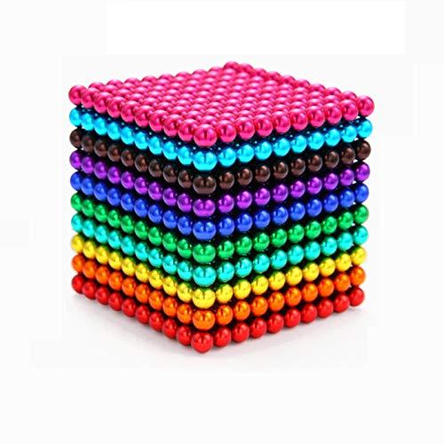 Magnetico di Ball colori Rubik Cube, 5 mm 512/1000 Pezzi Magia blocks.Magnetic giocattolo con molteplici combinazioni di forme sferiche per alleviare lo stress, esercizio capacità di pensiero.,1000pcs