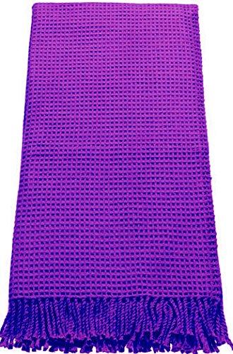 ESPRIT Wohndecke Waffle Violet - 071 140x180 cm 140x180 cm