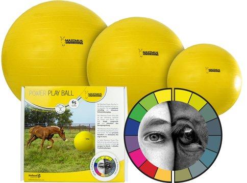 Maximus Reiterlive Pferdespielball Power Play Ball (100cm)