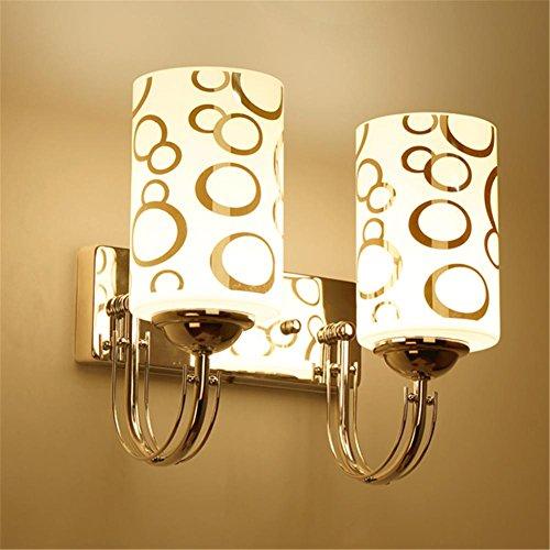 Applique Moderne Simple LED Lampe de Chevet Creative Chambre Salon Restaurant Salle D'étude Escalier Allée Hôtel Décoration Mur Lumière, D