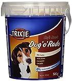 Bote de Golosinas para perros Soft Snack Dog'o'Rado 500 grs Trixie .