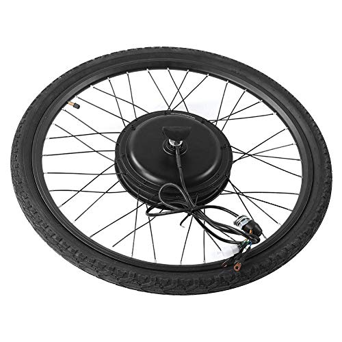 JALAL Electric Bike Conversion Kit 48V 1000W Front Wheel Conversion Kit 26'