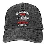 WABB Unisex Adulthood Khabib Nurmagomedov 1988 Summer Fashion Cowboy Hats Black