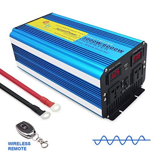 LVYUAN 2020 new Pure Sine Wave Power Inverter 3000W /6000W DC 12V to AC...