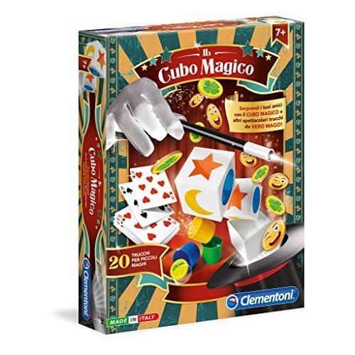 Clementoni-Il Cubo Magico Giochi da Tavolo, Multicolore, 16081