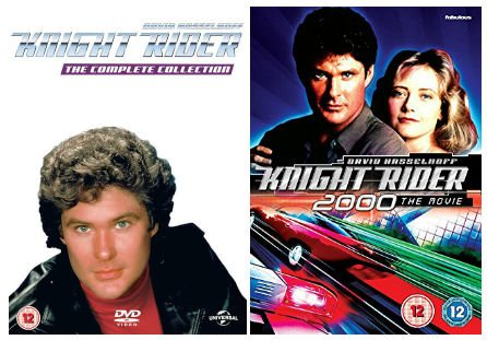 Knight Rider complete Seasons 1-4 + Knight Rider 2000 The Movie DVD Collection
