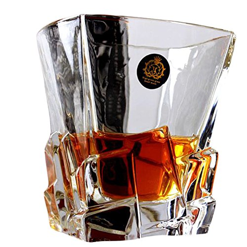 Design unique Transparent Whiskey Verre Coupe Wine Drinking Cup-A3
