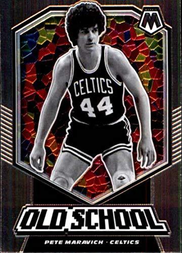 2019-20 Panini Mosaic Old School #17 Pete Maravich Boston Celtics Basketball Card