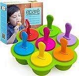 Eparé Popsicle Formen für Kleinkinder – selbstgemachte Eiswürfelform – Mini-Eis-Leckerli-Form...