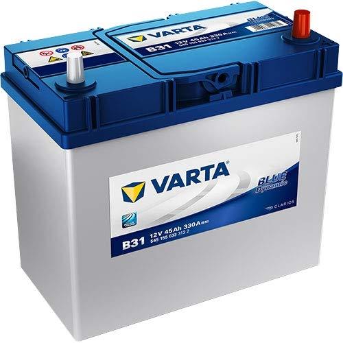 VARTA 5451550333132 Autobatterien Blue Dynamic B31 12 V 45 mAh 330 A