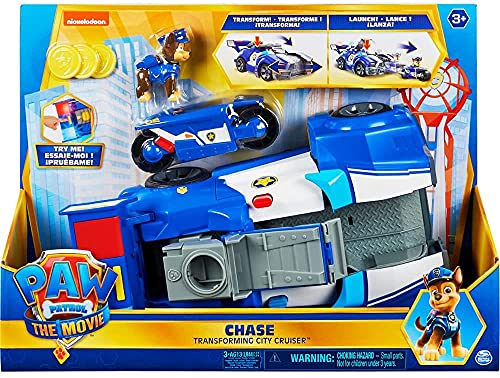 PAW Patrol 6060759 Paw VHC Deluxe Chase Movie Vehicle GML