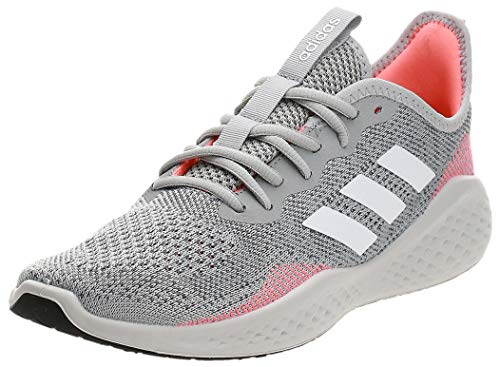 Adidas FLUIDFLOW, Zapatillas para Correr Hombre, Grey Two F17/FTWR White/Signal Coral, 43 1/3 EU