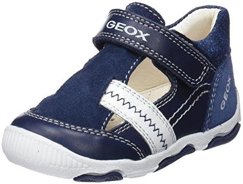 Geox Baby Jungen B New BALU' Boy C Sandalen, Blau (Navy/White), 25 EU