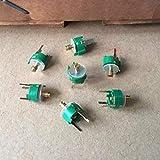 Jgzwlkj Condensadores Capacitor Ajustable 5-20pf Capacitor Variable 8MM Capacitor de Ajuste de Alta frecuencia DD