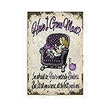 Alice im Wunderland Mad-1 Leinwand-Kunst-Poster und