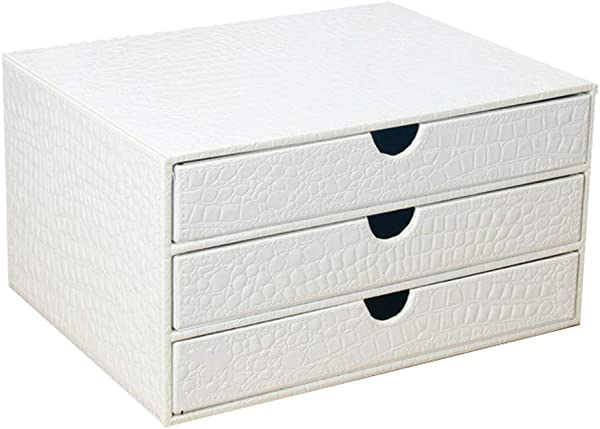 File Cabinets Storage Box White Table A4 Data Cabinet Drawer Rack HUYP