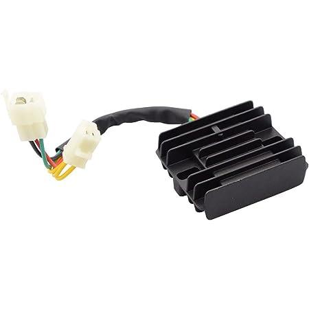 GOOFIT Voltage Regulator Rectifier for 250cc 260cc Honda Helix CN250 Linhai VOG Roketa Jonway