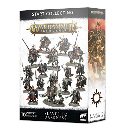 Warhammer Age of Sigmar Games Workshop Start Collecting! Slaves to Darkness