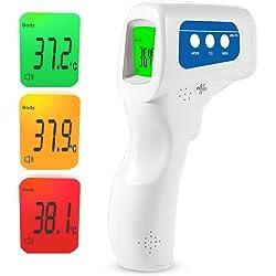 Easy@Home 3 en 1 termómetro de frente infrarrojo sin contacto