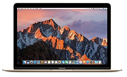 Apple MNYK2LL/A 12in MacBook Laptop - Gold (Retina Display, 1.2GHz Intel Core m3 Dual Core Processor, 8GB RAM, 256GB , Intel HD Graphics, Mac OS (2017 Newest Version) (Renewed)