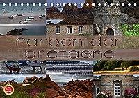Farben der Bretagne (Tischkalender 2022 DIN A5 quer): Farbenfrohe Fotografien der Bretagne (Monatskalender, 14 Seiten )