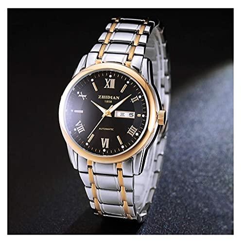 JYTFZD YANGHAO-Reloj de Pulsera- Reloj MECÁNICO AUTOMÁTICO Momento DE Lujo TENDIENDO Muy TENDIENDO Reloj DE IMPEESTA DIAL Luminous (Color: E) OUZDNSSB-5 (Color : B)
