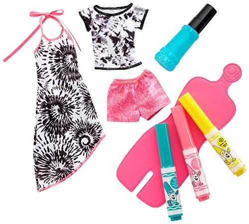 Barbie Crayola Tie Dye Fashions